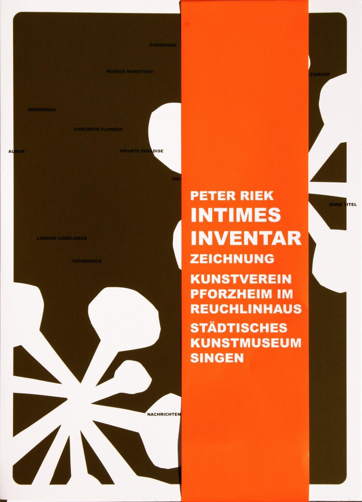 PETER RIEK Intimes Inventar